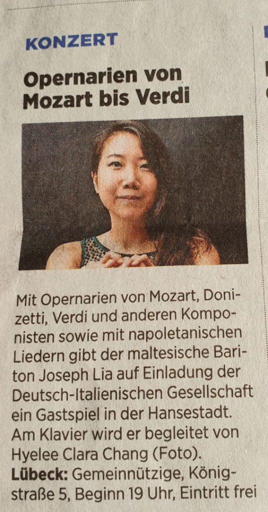 Opernarien von Mozart bis Verdi am 18.06.2019
